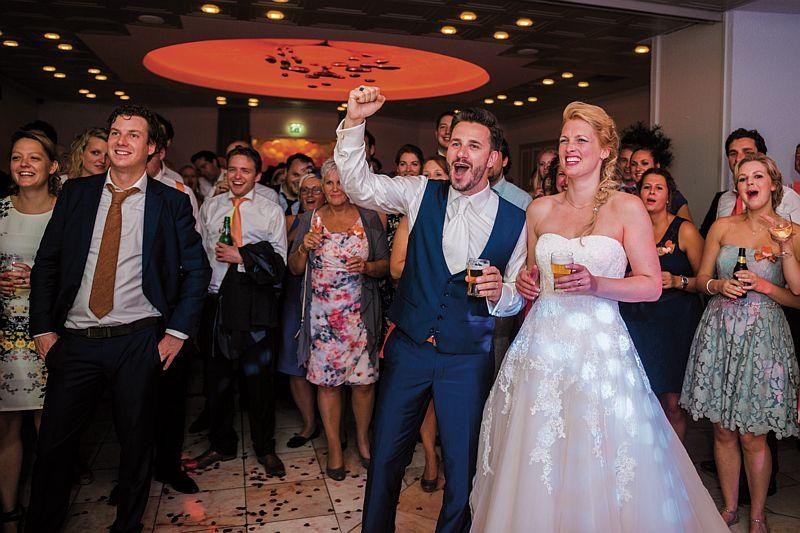 Bruiloftsfeest bij Hotel-Restaurant Bakker in Vorden