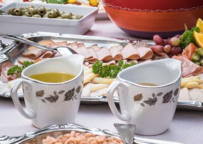 Buffet en catering buffet van Hotel Restaurant Bakker in Vorden