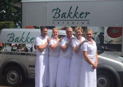 Cateringmedewerkers van Hotel-Restaurant Bakker in Vorden