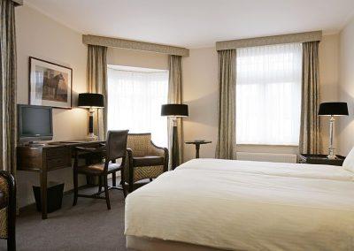 Deluxe hotelkamer van Hotel Bakker in Vorden