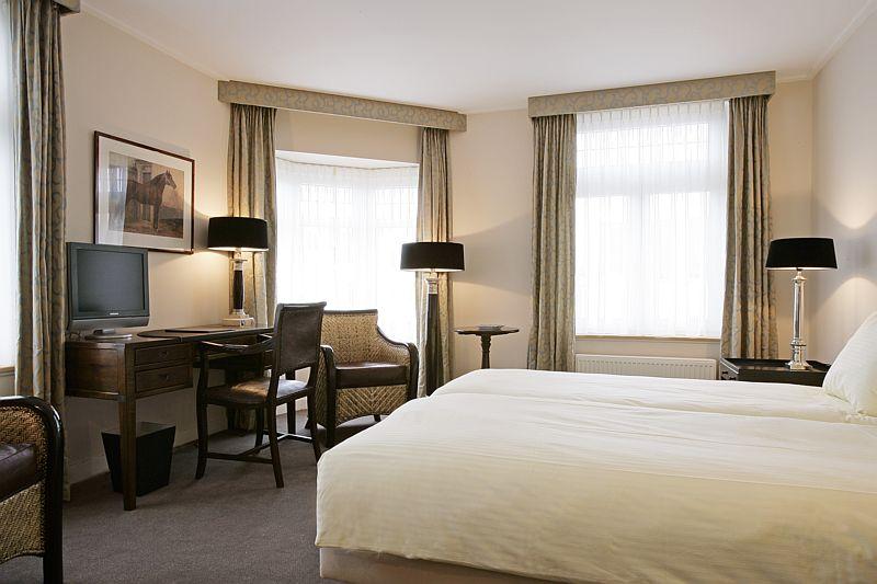 Het Golfen & genieten arrangement is inclusief verblijf in een deluxe hotelkamer van Hotel Bakker in Vorden