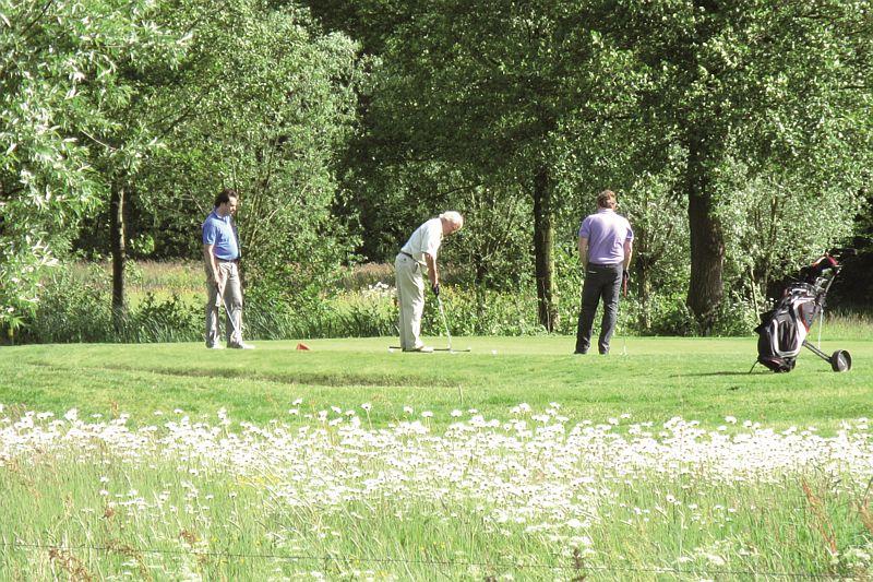 Het arrangement golfen en genieten van Hotel-Restaurant Bakker in Vorden is inclusief green-fee voor Golfbaan Zelle in Hengelo