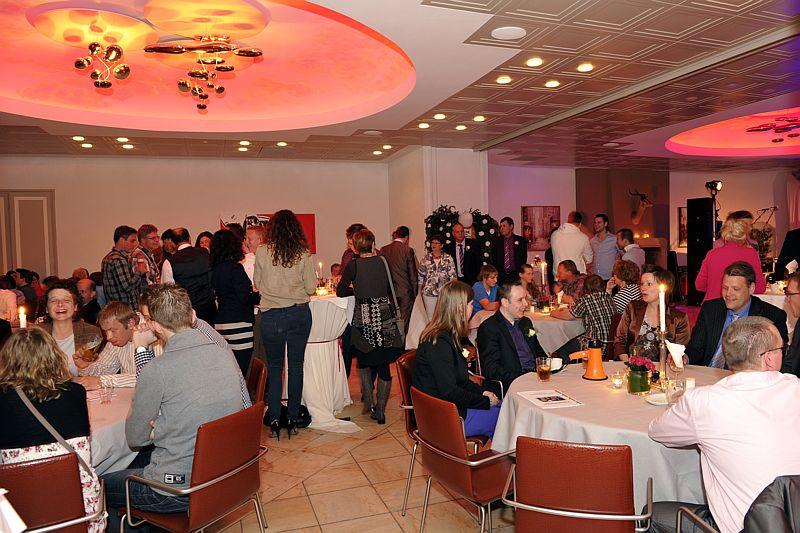 Grote zaal als feestzaal van Hotel-Restaurant Bakker in Vorden