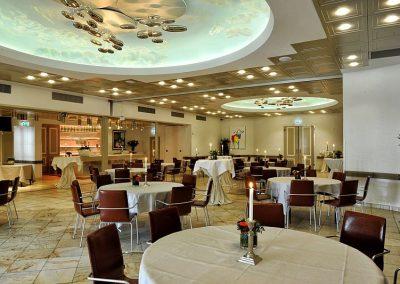Grote zaal van Hotel-Restaurant Bakker in Vorden