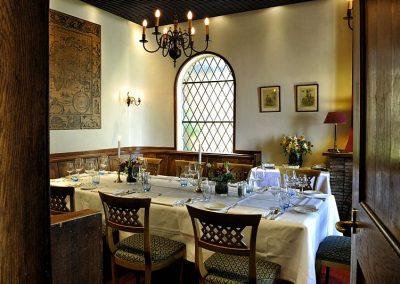 Dineren in de huiskamer van Hotel-Restaurant Bakker in Vorden