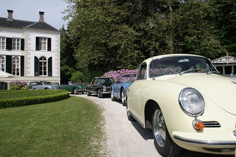 Esvera Classic Car Rally 21 bij Hotel-Restaurant Bakker in Vorden