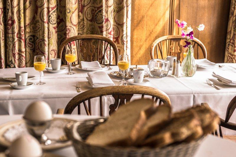 Ontbijt van Hotel Restaurant Bakker in Vorden