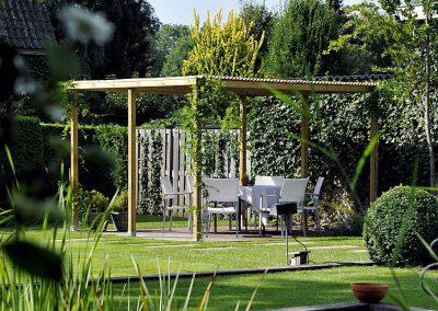 Tuin van Hotel-Restaurant Bakker in Vorden
